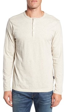 Patagonia Men's 'Daily' Long Sleeve Organic Cotton Henley