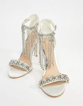 Asos HONOR Premium Bridal Embellished Heeled Sandals