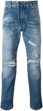 Pierre Balmain distressed slim jeans