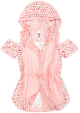 Beautees Big Girls 2-Pc. Cold Shoulder Anorak & Cami Set