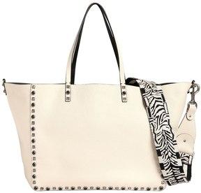 Valentino Rockstud Rolling Reversible Tote Bag
