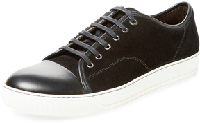 Lanvin Men's Leather Low Top Sneaker
