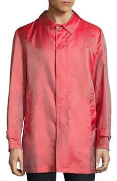 Isaia Silk Raincoat