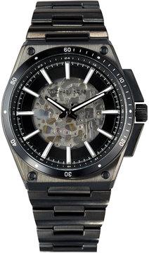 MICHAEL Michael Kors Wilder Black IP Stainless Steel Automatic Skeleton Watch