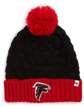 '47 Women's Matterhorn Atlanta Falcons Beanie - Black