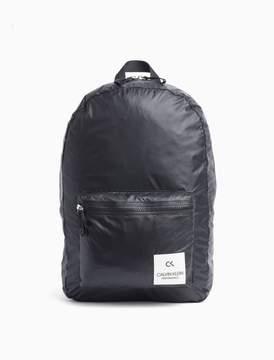 Calvin Klein nylon zip backpack
