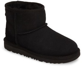 UGG Toddler Classic Mini Ii Water-Resistant Genuine Shearling Boot