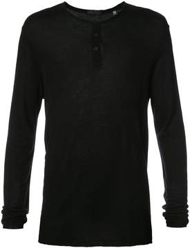 ATM Anthony Thomas Melillo Modal Long Sleeve Henley