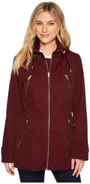 Andrew Marc Tanner 30 Tech Rain Jacket Women's Coat