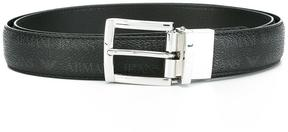 Armani Jeans classic textured belt