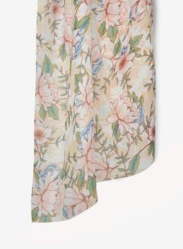 Dorothy Perkins Multi Coloured Peony Floral Print Scarf