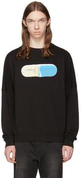 Diesel Black S-KALB-QA Pill Sweatshirt