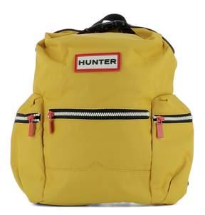 Hunter Yellow Fabric Backpack