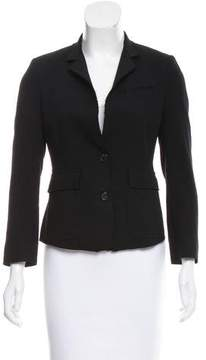 Band Of Outsiders Structured Virgin Wool Blazer