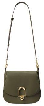 MICHAEL MICHAEL KORS Delfina Leather Saddle Bag