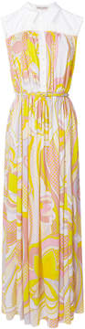 Emilio Pucci long belted dress