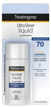 Neutrogena® Ultra Sheer Liquid Daily Sunscreen Broad Spectrum - SPF 70 - 1.4 fl oz