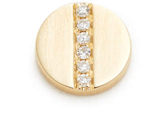 Ef Collection Diamond Screw Single Stud Earring
