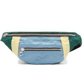 Isabel Marant Noomi Technical Belt Bag - Womens - Green Multi