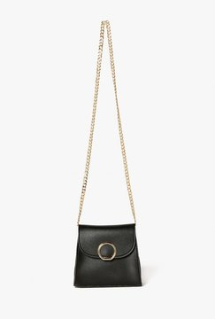 Circle Detail Mini Saddle Bag