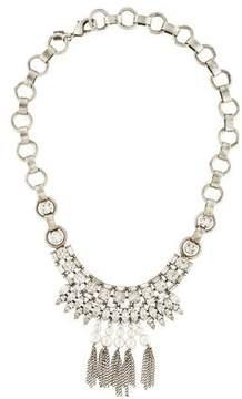 Dannijo Zoya Crystal & Pearly Necklace