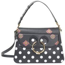 J.W.Anderson Polka Dot Medium Pierce Leather Shoulder Bag