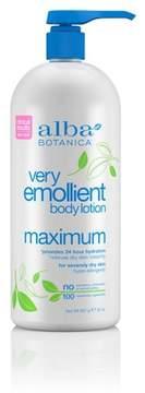 Alba Very Emollient Body Lotion - Maximum- 32 oz