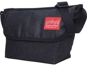 Manhattan Portage Unisex Midnight Mini Ny Messenger Bag.