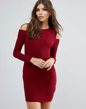 AX Paris Cold Shoulder Bodycon Dress