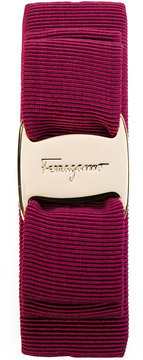 Salvatore Ferragamo brand plated hairband