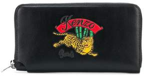 Kenzo embroidered logo purse