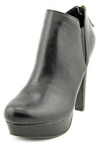 Material Girl Ross Round Toe Synthetic Bootie.
