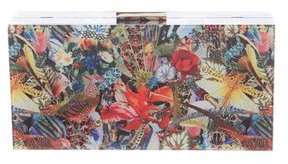 Alice + Olivia Printed Box Clutch