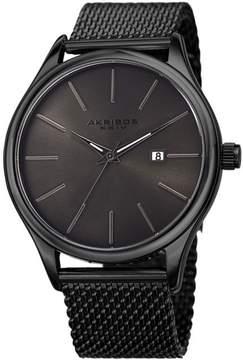 Akribos XXIV Black Dial Men's Watch