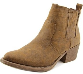 Very Volatile Hattie Women Pointed Toe Synthetic Ankle Boot.