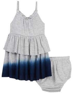 Splendid Dip-Dyed Dress & Bloomer Set (Baby Girls)