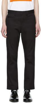 Junya Watanabe Black Stretch Twill Trousers