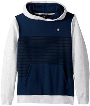 Volcom Threezy Pullover Boy's Long Sleeve Pullover