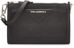 Karl Lagerfeld Leather Classic Small Handbag