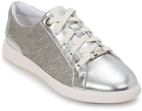Foot Petals Silver Andi Leather Sneaker - Women