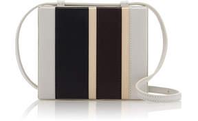 Jil Sander Striped Mini Leather Case Bag