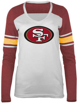 5th & Ocean Women's San Francisco 49ers Back Block Long Sleeve T-Shirt