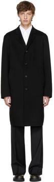 Jil Sander Black Maratea Coat