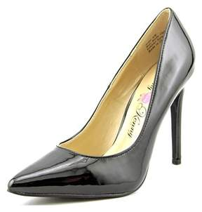 Penny Loves Kenny Opus Women Pointed Toe Synthetic Black Heels.