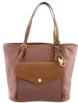 MICHAEL Michael Kors Leather-Trimmed Nylon Tote
