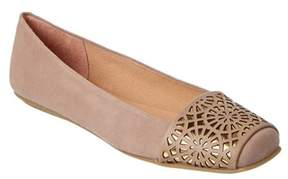 French Sole Reign Suede Flat.