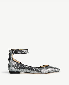 Ann Taylor Evana Sequined D'Orsay Flats