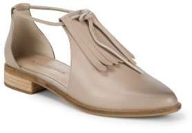 Kelsi Dagger Brooklyn Alani Leather Fringe Shoes