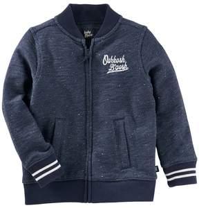 Osh Kosh Baby Boy Embroidered Logo Bomber Jacket