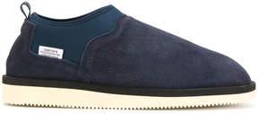 Suicoke faux fur lined slip-on sneakers